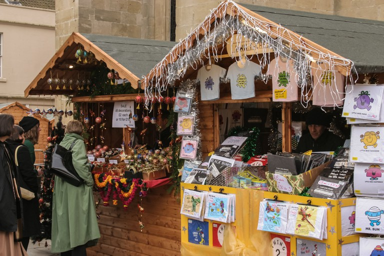 Christmas Market stalls, Bath