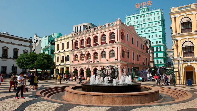 Senado Square, Macau, China.