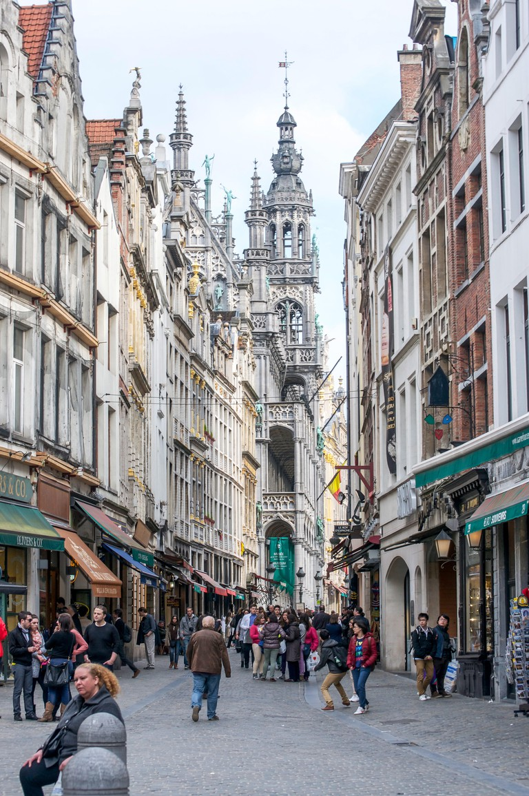 The Grand Place dates back to late Medieval times