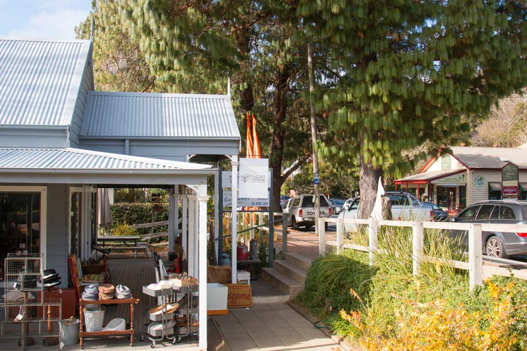 Kangaroo valley village centre in the southern highlands of new south wales,australia