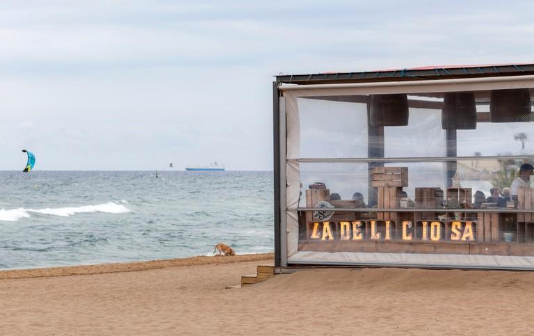 Barceloneta beach. Barcelona.