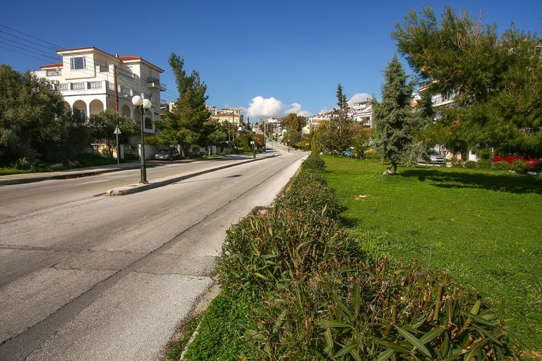 "Voula, Athens is part of the ""three Vs municipality"" of the Athens Riviera"