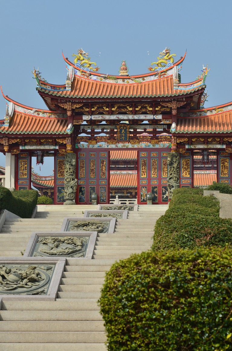 Tian Hou Palace at the A-Ma Cultural Village.