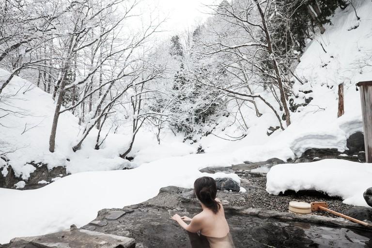 Winter Hot Springs Onsen