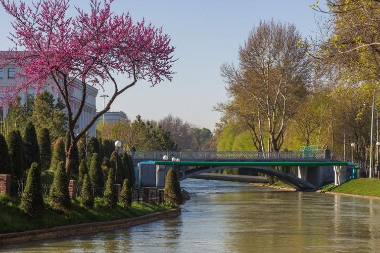 Bridge over Anchor Canal in Tashkent