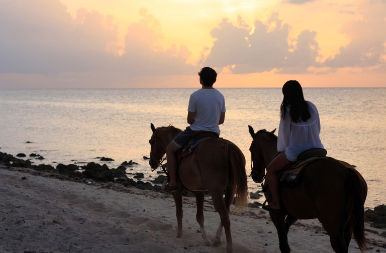 horse riding@conch point