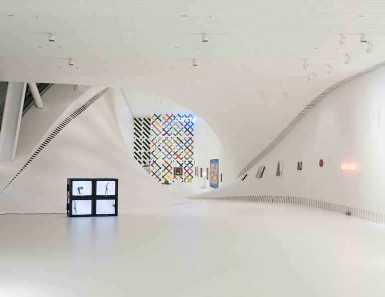Installation view of 'Hodgkin and Creed - Inside Out' at Kistefos
