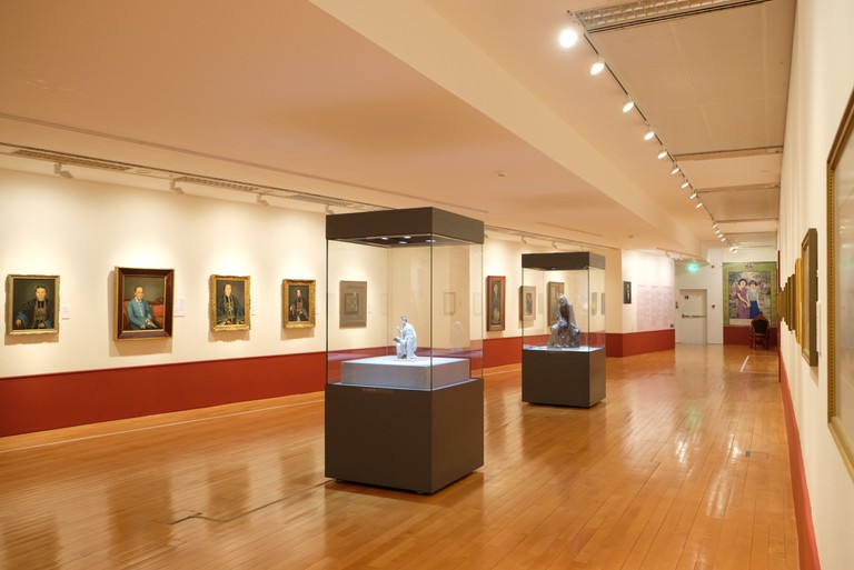 Interior of Macao Museum of Art