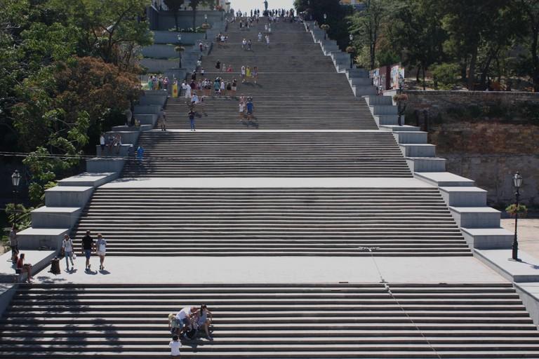 The Potemkin Steps in Odessa, Ukraine