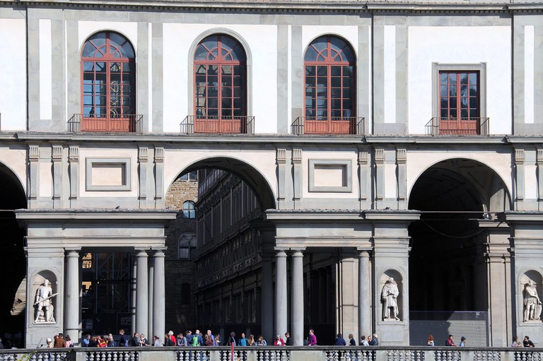 The Uffizi Gallery in Florence