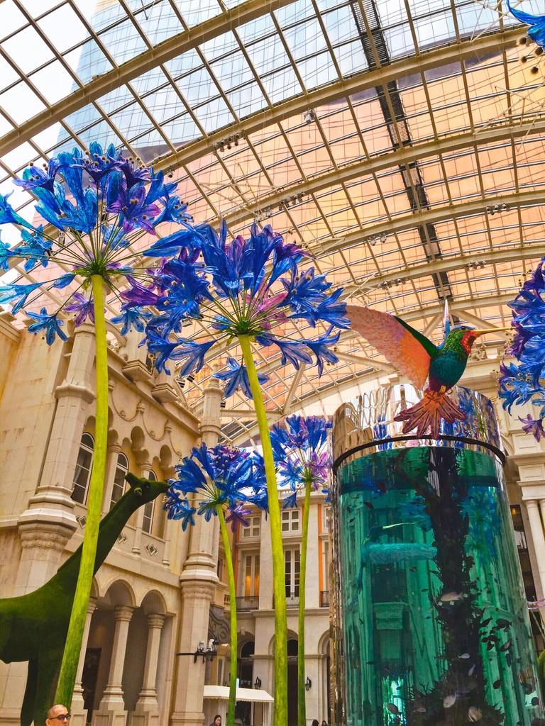 Art sculptures at MGM Macau