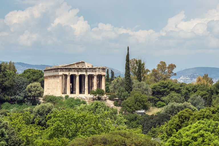 Temple of Hephaestus in Greek Agora