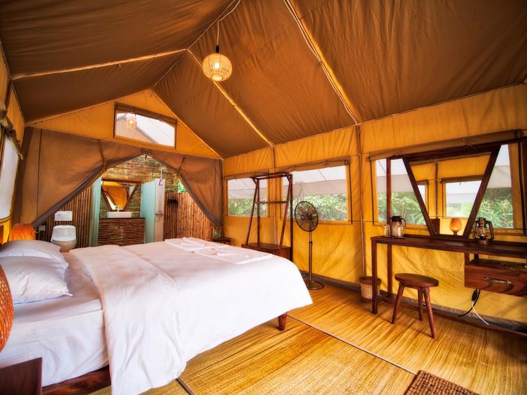 Interior Cardamom Tented Camp