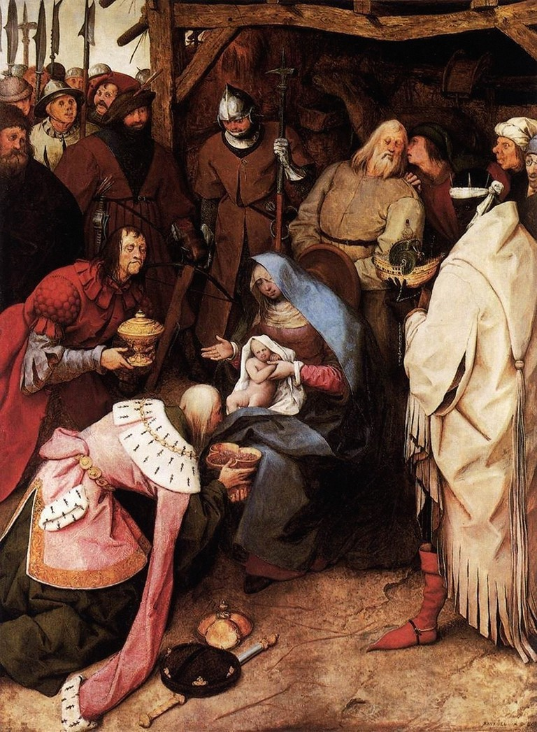 Pieter Bruegel the Elder - Adoration Magi 1564