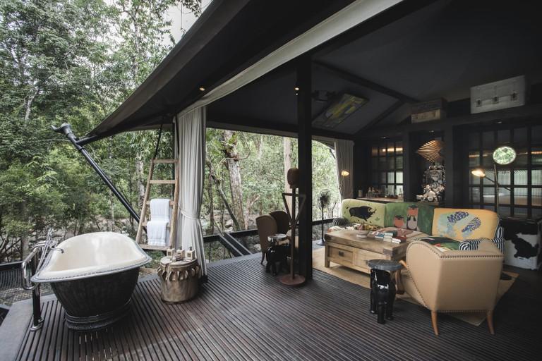 Interior of Shinta Mani Wild