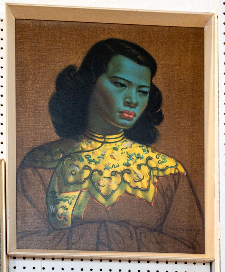 original print Chinese girl by Vladimir Tretchikoff