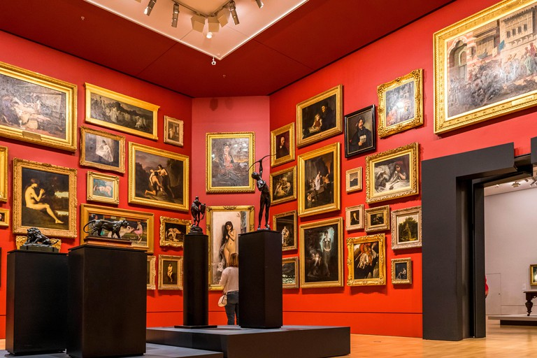 19th Century European Salon in the National Gallery of Victoria