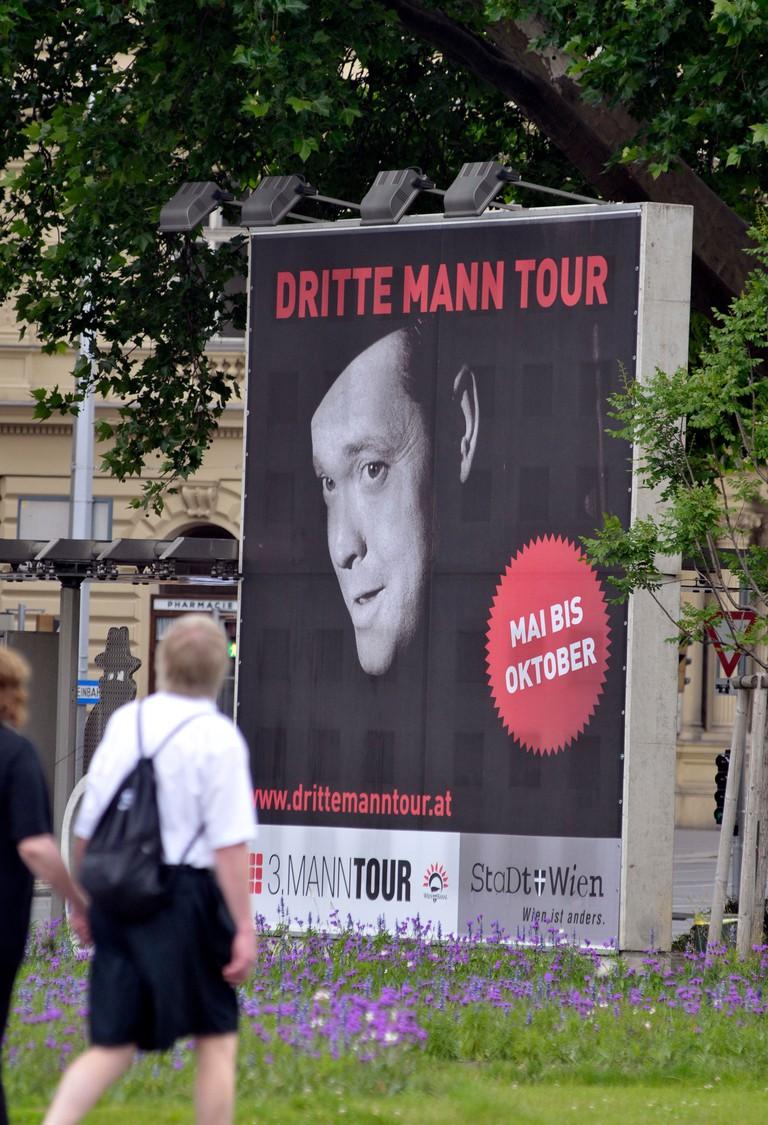 60th anniversary of the film 'The Third Man' in Vienna, Austria  - Jun 2009