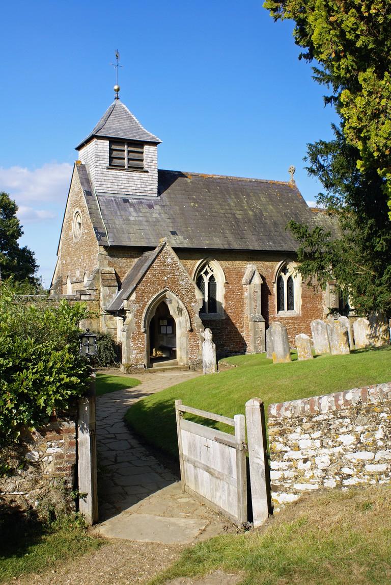 St Peters Church in Hambledon, Surrey.