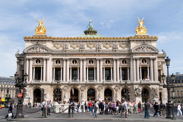 Opera Paris The Palais Garnier music dance theatre  lyric ballet performance show sensuality