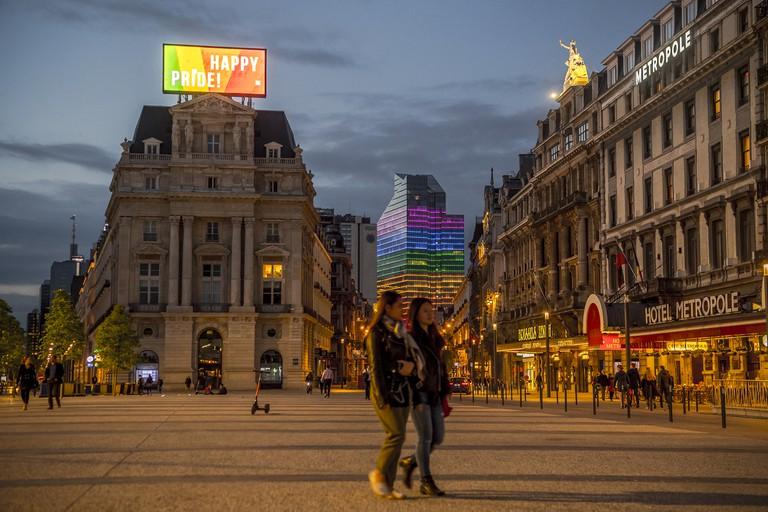 Belgian Pride Brussels 2019 - Buildings_EDA_2289_© visit.brussels - Eric Danhier