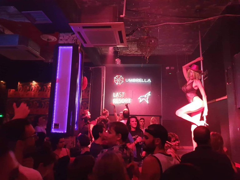 BeQueer nightclub in Athens