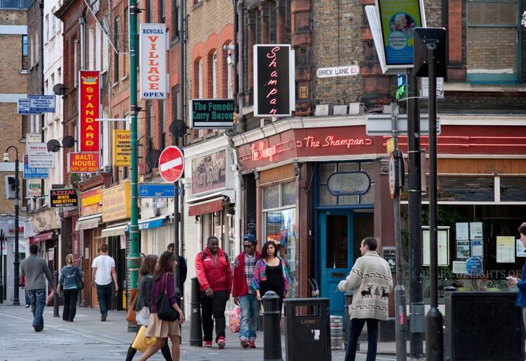 Brick Lane, London.