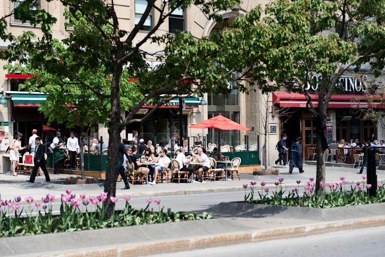 Montreal bar scene