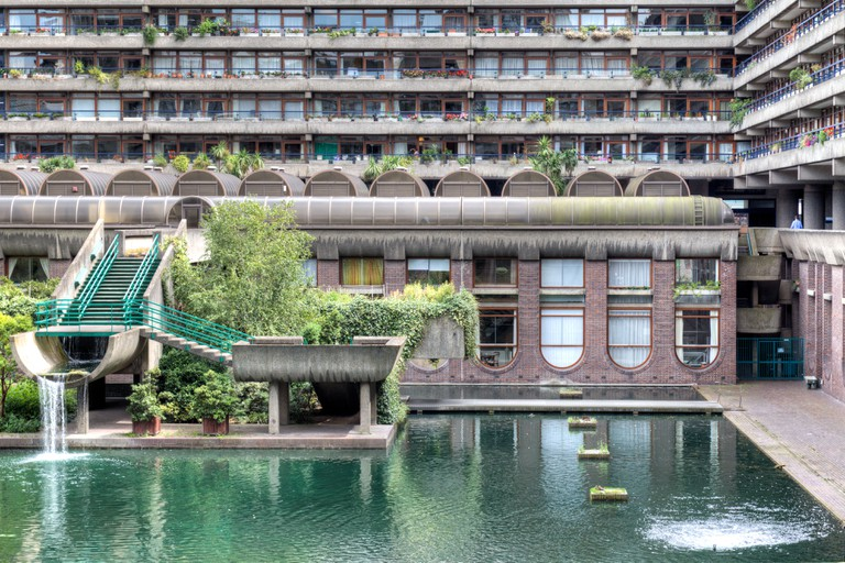 The Barbican Center in London