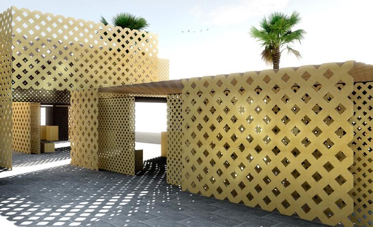 Dubai Design Week UMBRA by Finsa and Tinkah