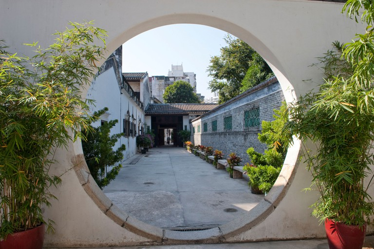 house of the mandarin, Macao, Macau