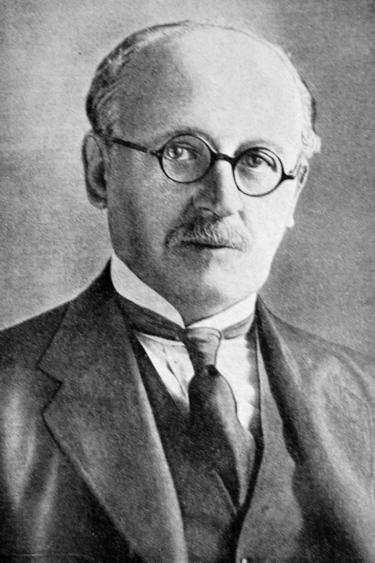 Photograph of Sir Edwin Lutyens (1869 - 1944)