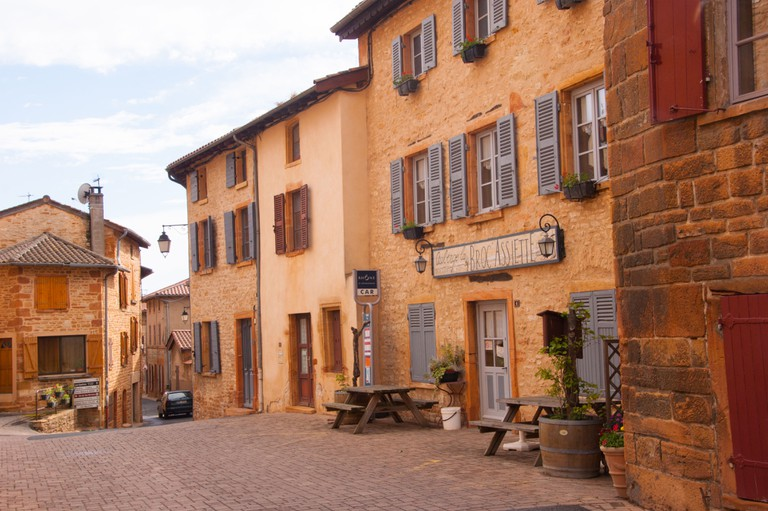 A village in Charnay, France