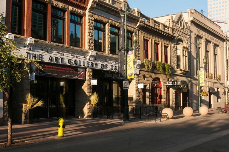 Downtown Calgary, Alberta, Canada.