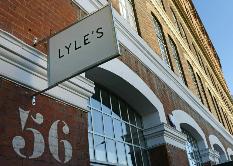 Lyle's British food restaurant, Shoreditch, London.