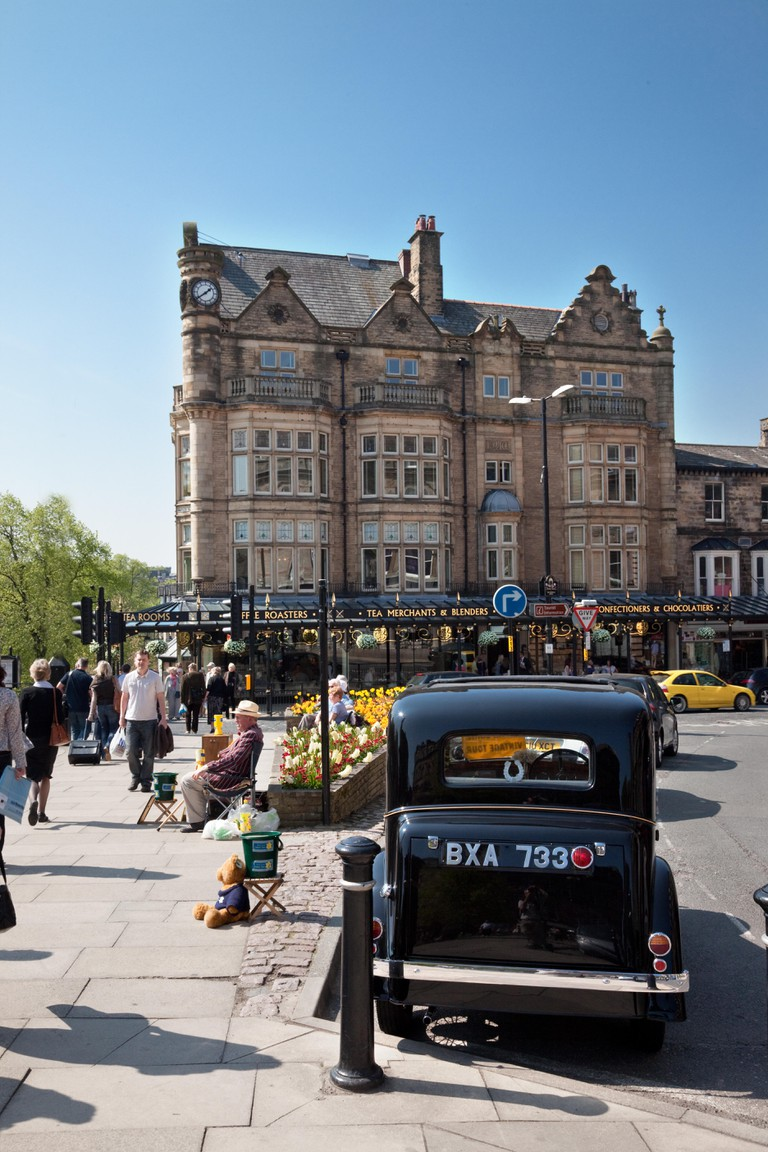 Betty's Cafe and tea Rooms in Harrogate North Yorkshire, United Kingdom.