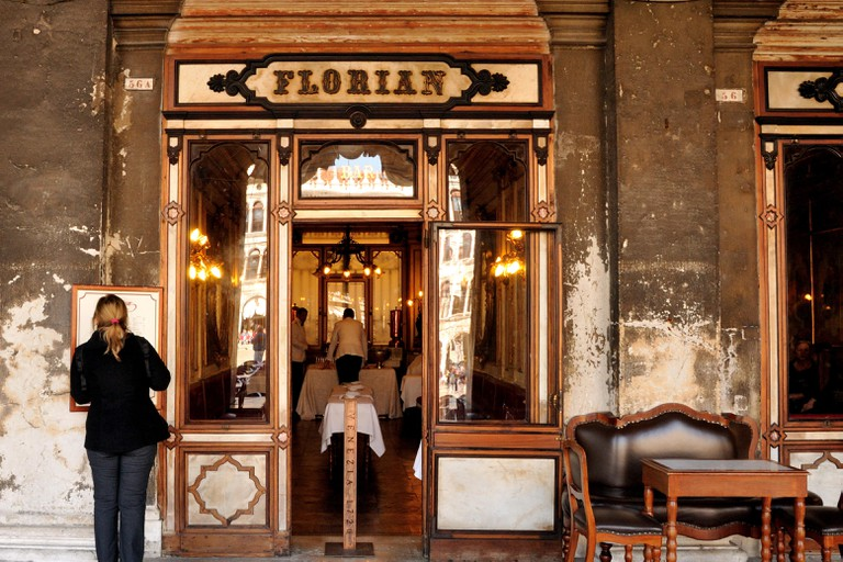Frontage of Cafe Florian, Venice