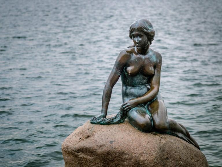 The Little Mermaid Statue Copenhagen Denmark