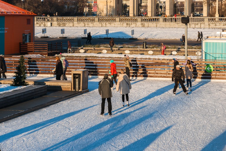 Skating in the Gorky Park
