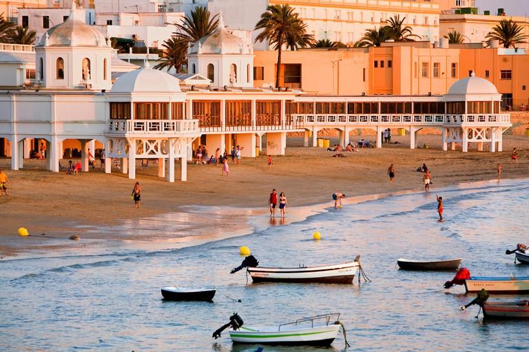 La Caleta beach, Cadiz