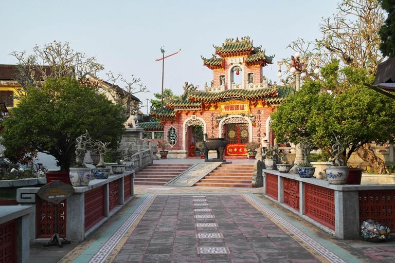 Temple in Hoian - Vietnam