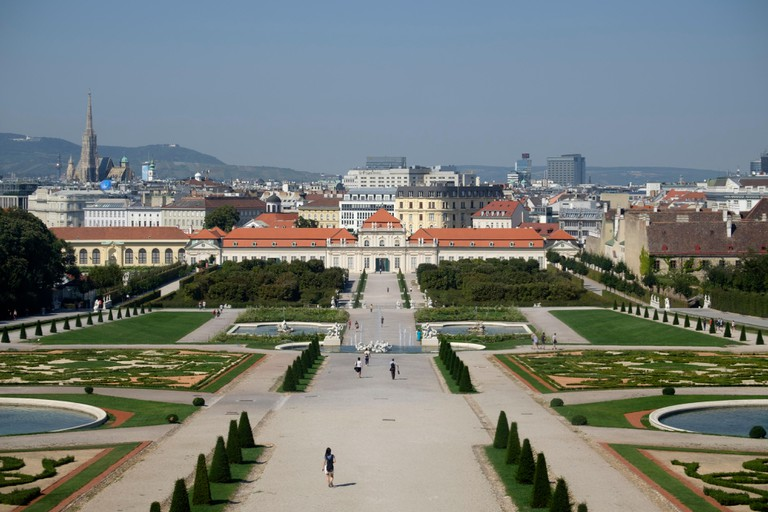 The Lower Belvedere Palace