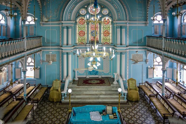 India Mumbai Bombay Knesset Eliyahoo Synagogue