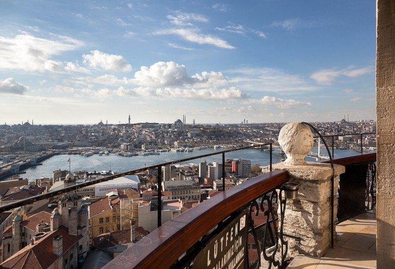 Eminonu from Galata Tower