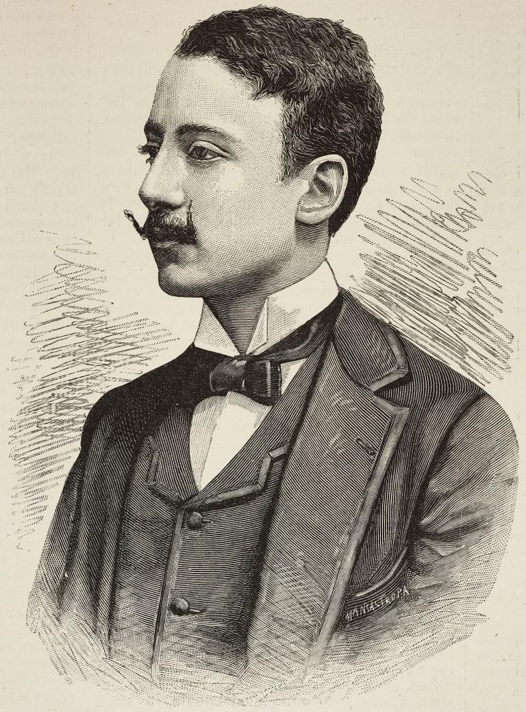 Portrait of Gabriele D'Annunzio, 1889