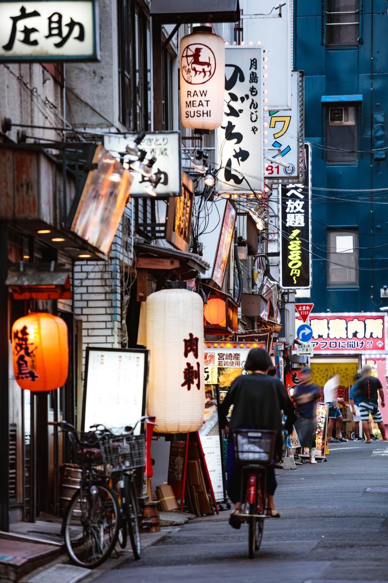 Kabukicho red light district, Shinjuku, Tokyo, Japan