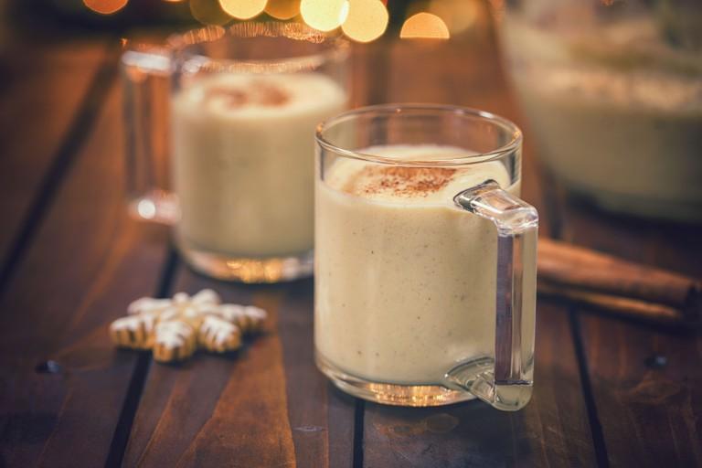 Eggnog at Christmas Time
