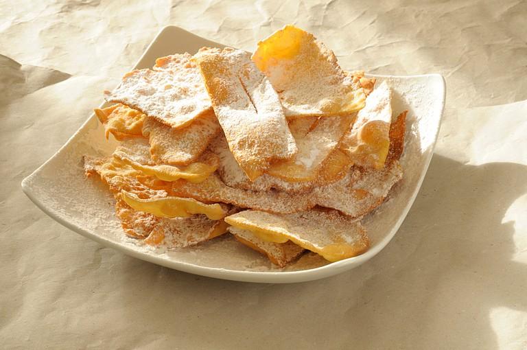 Carnival Italian fried sweet pastry