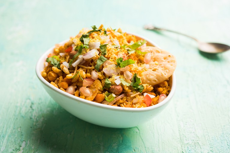 Bhelpuri Chaat/chat is indian street food
