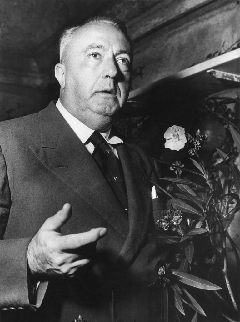 Carlo Emilio Gadda, 1957